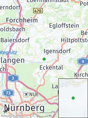 Here Map of Kleinsendelbach