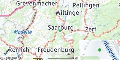 Google Map of Saarburg