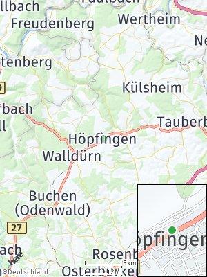 Here Map of Höpfingen