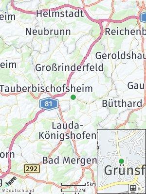 Here Map of Grünsfeld
