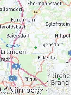 Here Map of Neunkirchen am Brand