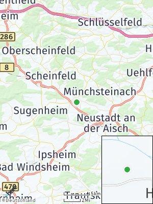 Here Map of Baudenbach