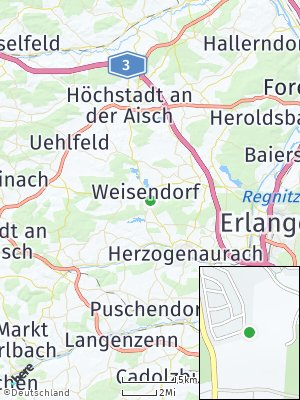 Here Map of Weisendorf