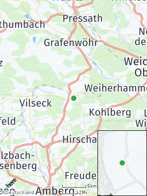 Here Map of Freihung