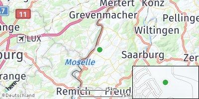 Google Map of Wincheringen