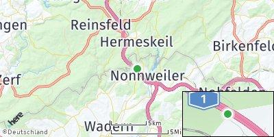 Google Map of Nonnweiler