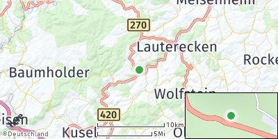 Google Map of Sankt Julian