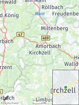 Here Map of Kirchzell