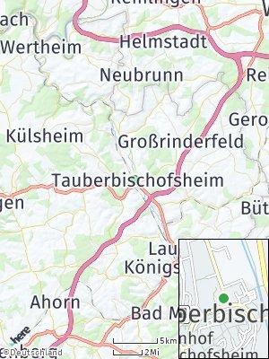 Here Map of Tauberbischofsheim