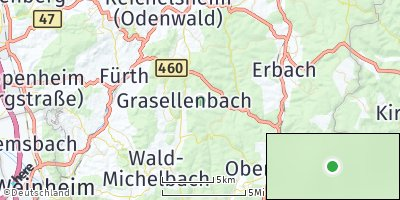 Google Map of Grasellenbach