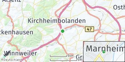 Google Map of Marnheim