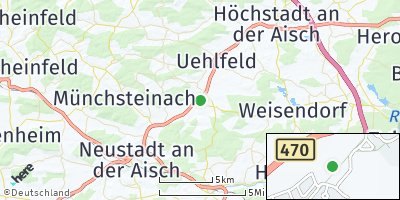 Google Map of Gerhardshofen