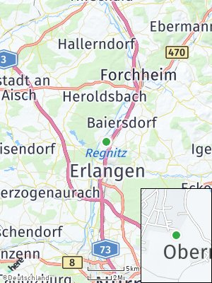 Here Map of Möhrendorf