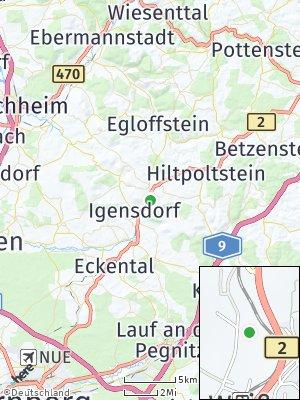 Here Map of Weißenohe