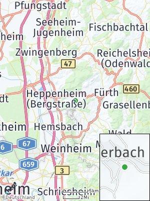 Here Map of Sonderbach