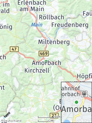 Here Map of Amorbach