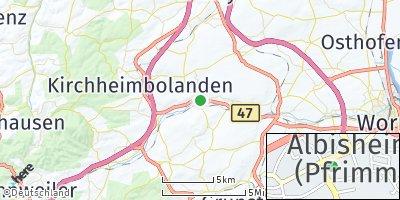 Google Map of Albisheim
