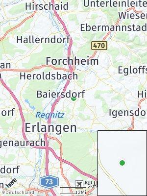 Here Map of Langensendelbach