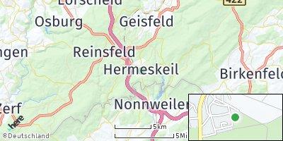 Google Map of Hermeskeil