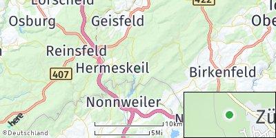 Google Map of Züsch