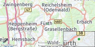 Google Map of Fürth
