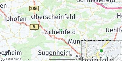 Google Map of Scheinfeld