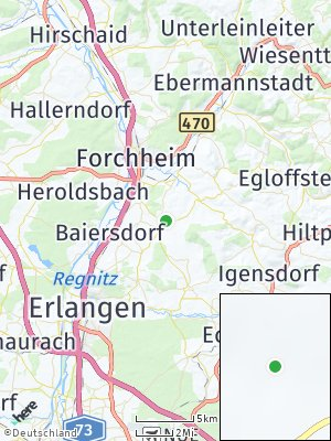 Here Map of Effeltrich