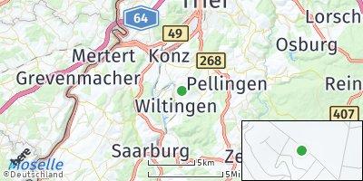 Google Map of Wiltingen
