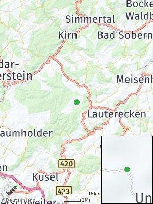 Here Map of Unterjeckenbach