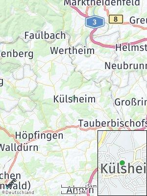 Here Map of Külsheim