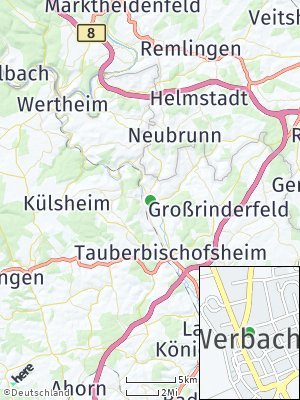 Here Map of Werbach
