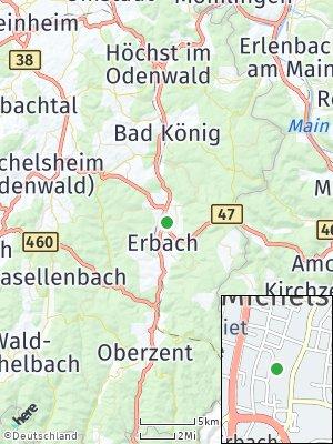 Here Map of Michelstadt