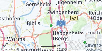 Google Map of Einhausen