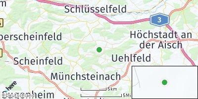Google Map of Vestenbergsgreuth