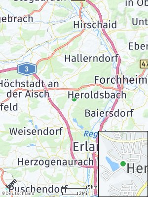 Here Map of Hemhofen