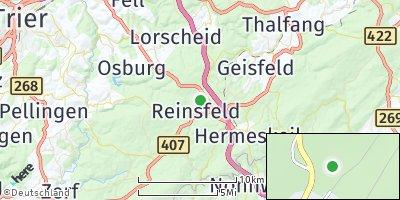 Google Map of Reinsfeld