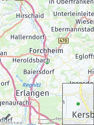 Here Map of Kersbach