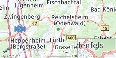 Google Map of Lindenfels