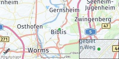 Google Map of Biblis