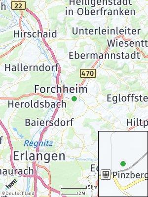 Here Map of Pinzberg