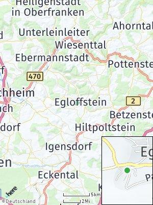 Here Map of Egloffstein