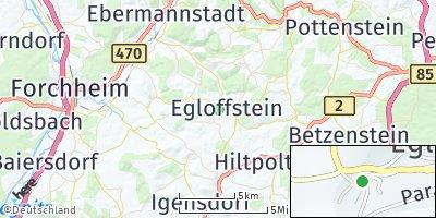 Google Map of Egloffstein