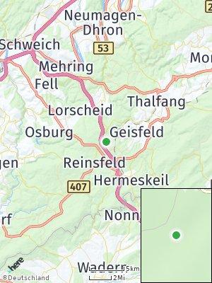Here Map of Hinzert-Pölert