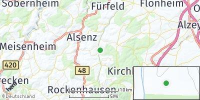Google Map of Gaugrehweiler