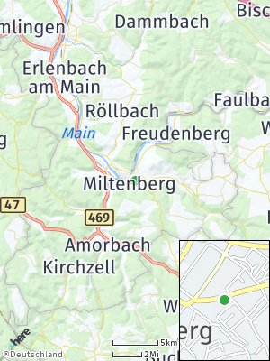 Here Map of Miltenberg