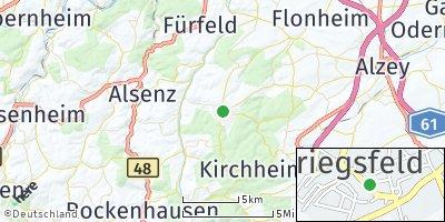 Google Map of Kriegsfeld