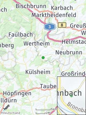 Here Map of Bronnbach