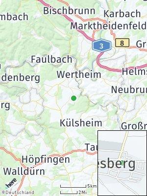 Here Map of Dörlesberg