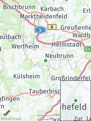 Here Map of Höhefeld