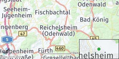 Google Map of Reichelsheim